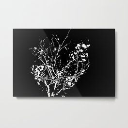 Got black bush? Metal Print