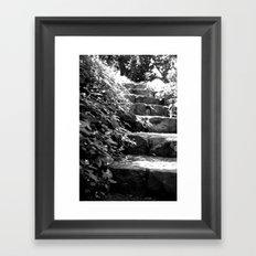 A Step Up Framed Art Print