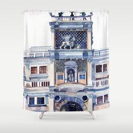 St Mark's Clocktower Shower Curtain