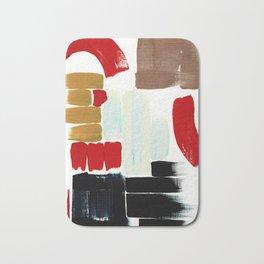 Abstract Sampler Bath Mat