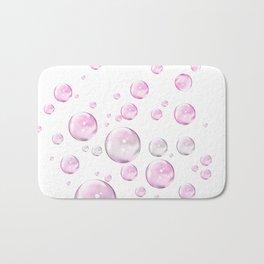Pretty Pink Bubbles Bath Mat