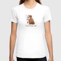 bulldog T-shirts featuring Bulldog by 52 Dogs