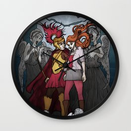 The Angels take the Ponds Wall Clock