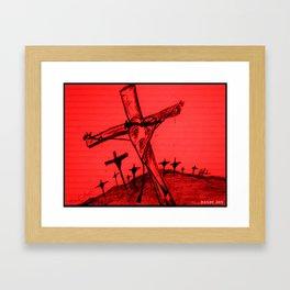 The Death of Romance Framed Art Print