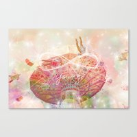 forever young Canvas Prints featuring Forever Young by Lisa Argyropoulos