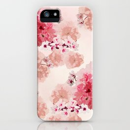 Floral Rage iPhone Case