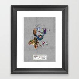 Gill Scott Heron Framed Art Print