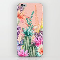 Cacti Love iPhone & iPod Skin