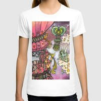 80s T-shirts featuring 80s dreamscape by Charlie L'amour