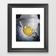 Birth Of Planet Framed Art Print