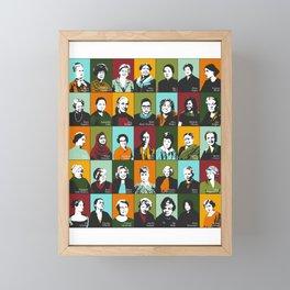 Feminist Icons Framed Mini Art Print