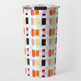 Colorful Ice bars  Travel Mug