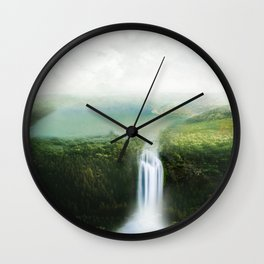 relaxing view Wall Clock