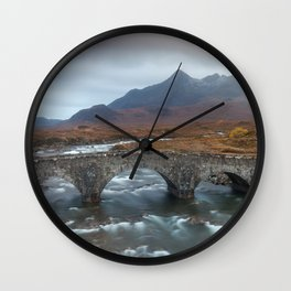 Sligachan Old Bridge Wall Clock