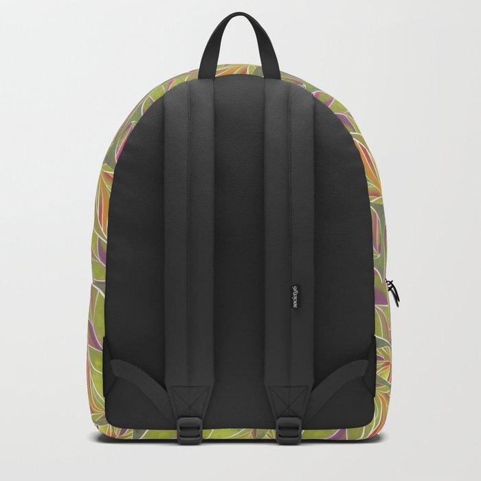 Leaves. Backpack