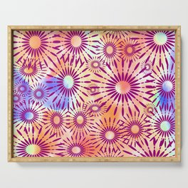 Candys Hippie Design 2 Serving Tray