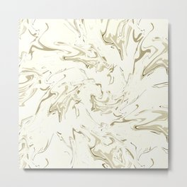 Marbled texture Metal Print