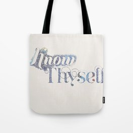 Know Thyself - Linen Edition Tote Bag