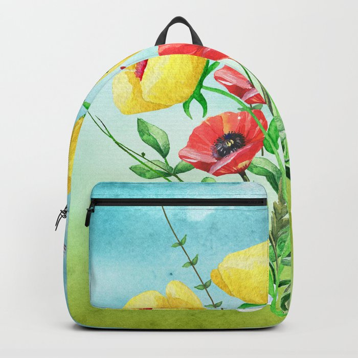 Flowers bouquet #20 Backpack