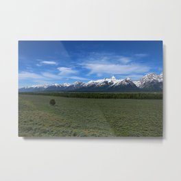 Beautiful Wyoming Landscape Metal Print