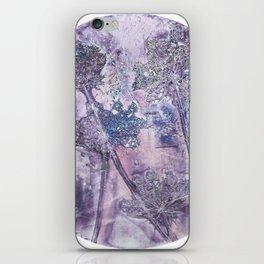 purple pimpinella iPhone Skin