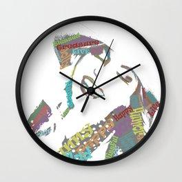 Happy woman II Wall Clock