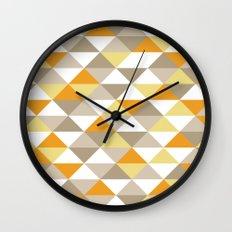 Triangle Pattern #1 Wall Clock