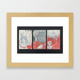 The Voyage of Death Framed Art Print
