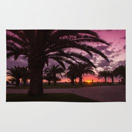 Meloneras sunset walk Rug