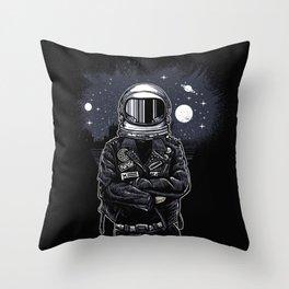 Astropunk Throw Pillow
