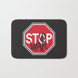 Stop War Bath Mat