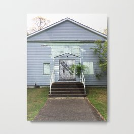 Abandon House Metal Print