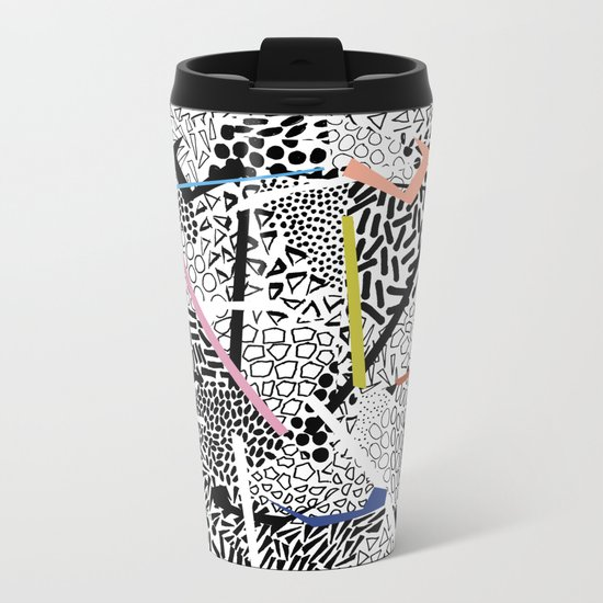 Graphic 83 Metal Travel Mug