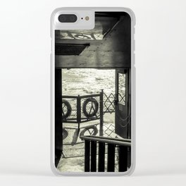 The Back of The Boat Clear iPhone Case