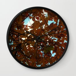 SHINE THROUGH Wall Clock