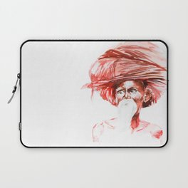 Old Indian Laptop Sleeve