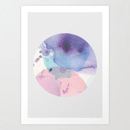 01Abstract 103 Vivid Art Print