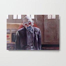 The Sad Clown Of Gotham Metal Print