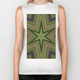 Green Star Biker Tank