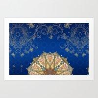 turkey Art Prints featuring Turkey by Zohayma Montañer