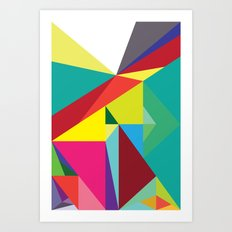 Geo-01 Art Print