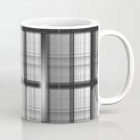 plaid Mugs featuring Plaid by Jonna Ivin