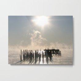 Bay Fog 2 Metal Print