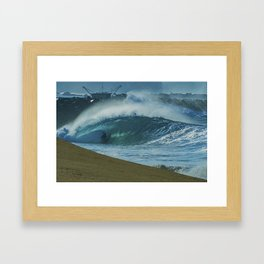 Green Room With a View Framed Art Print