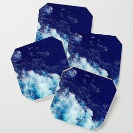 Ocean - Sea - Waves - Foam - Blues Coaster