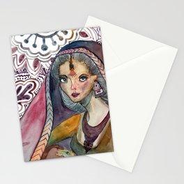 Sari Stationery Cards