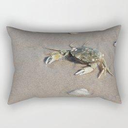 Beach Crab Rectangular Pillow