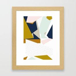 Stopping me from sinking Framed Art Print