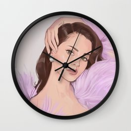 LDR Dazed Wall Clock