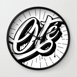 Oté Wall Clock